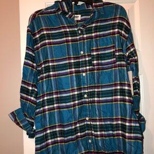 Long sleeve flannels
